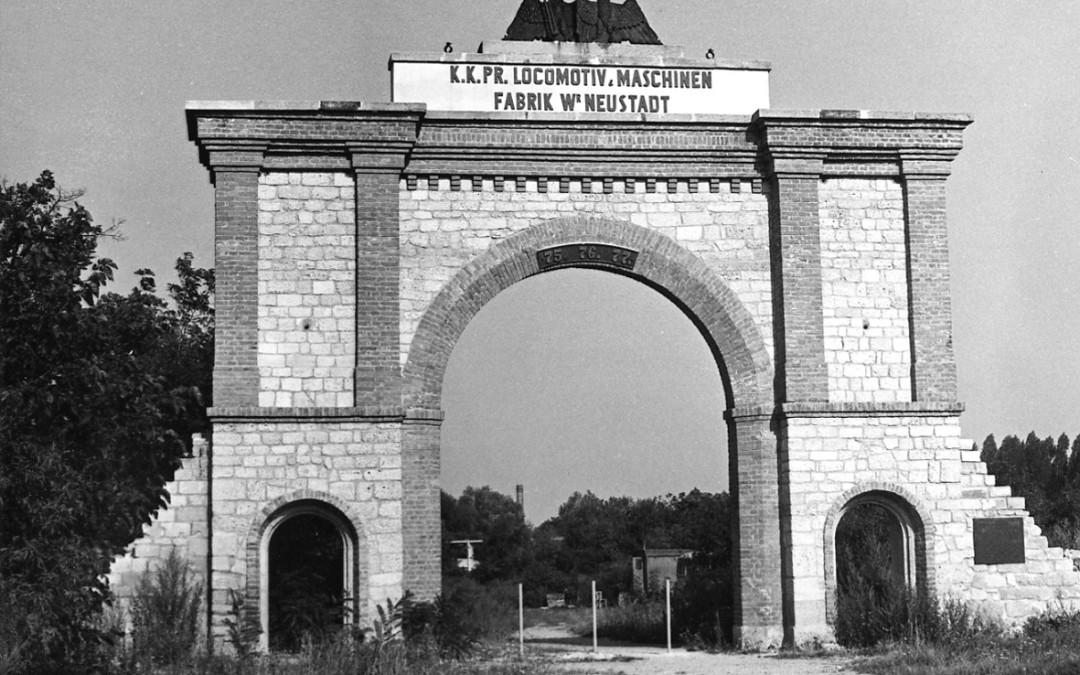 Ehemalige Lokomotivfabrik Wiener Neustadt, um 1842
