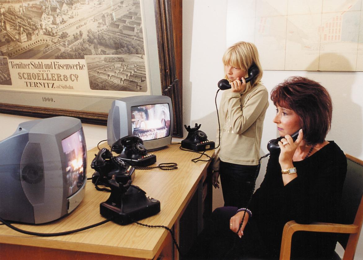Telefonieren mit der Geschichte