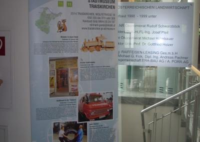 Die Wanderausstellung wurde auch  in St. Pölten Niederösterreichische Landes-Landwirtschaftskammer ausgestellt