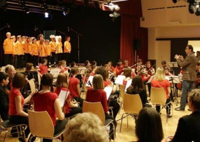 Orchester der  Musikschule Triestingtals beim Fühlingsfest in Berndorf