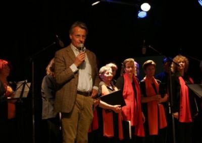 """Berndorf AG - Vorstand Dr. Peter Pichler erzählt beim Frühlingsfest über den Verein """"abenteuer INDUSTRIE"""""""
