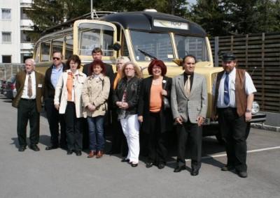 Erlebnisreiche Fahrt mit dem Nostalgie Bus in Berndorf