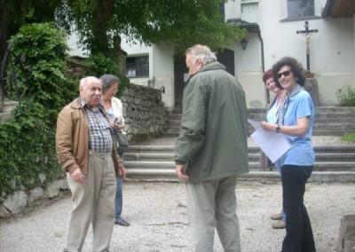 Als nächstes haben  wir ein kleiner Abstecher zur Kirche nach Waldegg gemacht die romantisch auf einem Hügel liegt