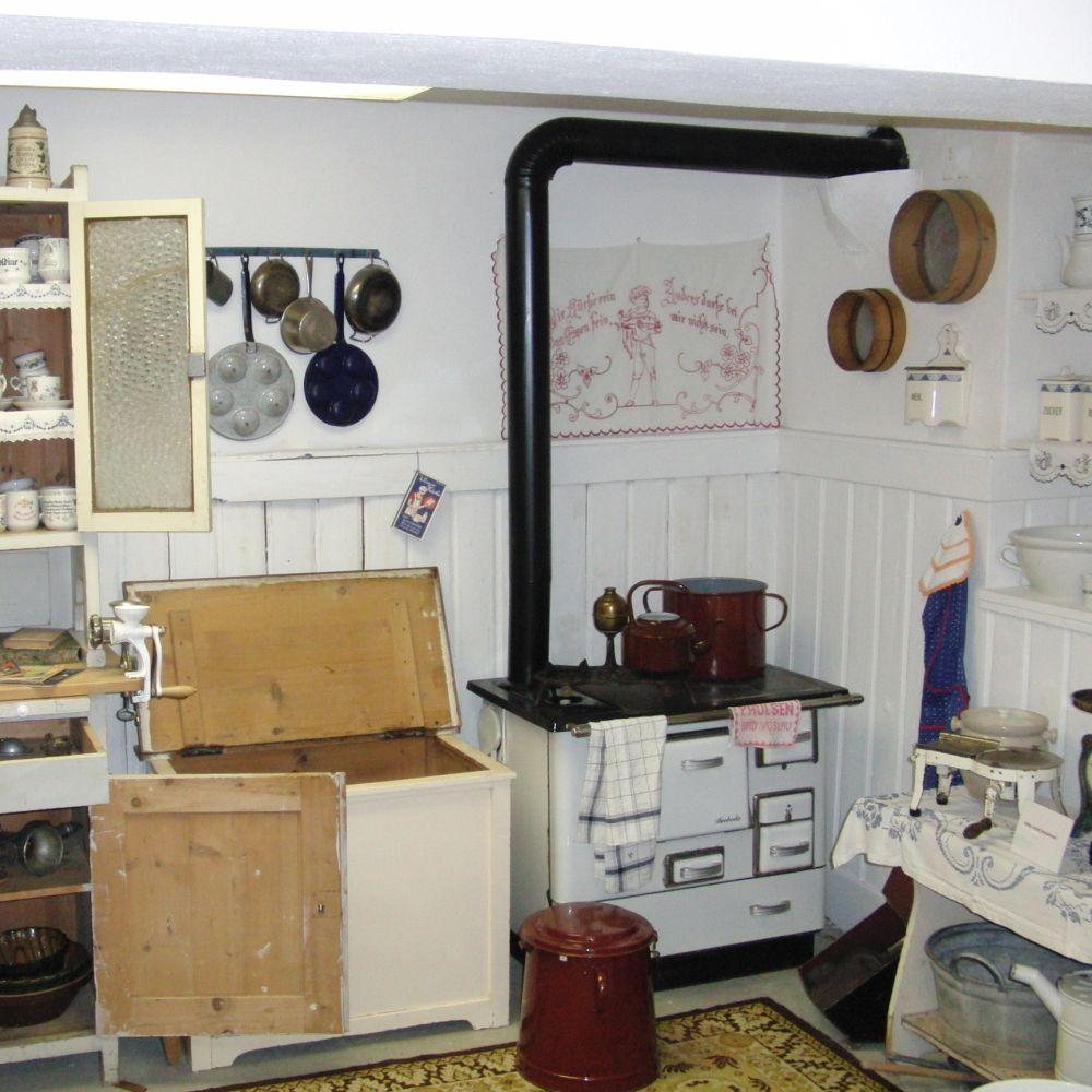 Wohnküche dazumal