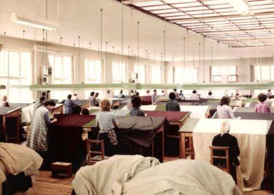 Ausnäherei der Kammgarnfabrik