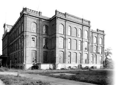 ehemalige Spinnfabrik, Hauptgebäude