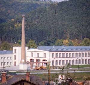 Ehemalige Tuchfabrik Pottenstein, um 1840 – heute Straßenmeisterei