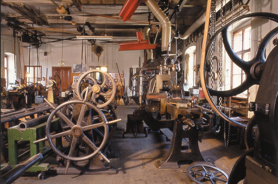 Blick in den Maschinensaal