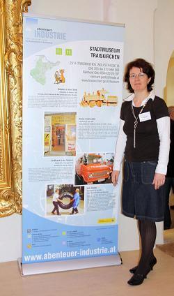 Im Stadtmuseum Traiskirchen  beim Tag der offenen Tür: 1. Mai 2010 konnte man sie auch bewundern