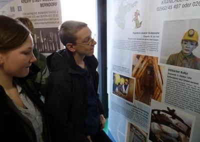 Beim Tag der offenen Tür in der HTL – Mödling  Jänner 2011 konnten die Rollups auch bestaunt werden