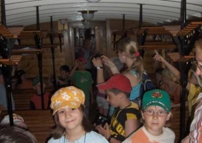 Besuch im Eisenbahnmuseum Schwechat
