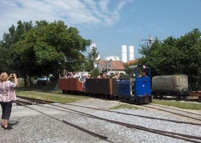 Erlebnisfahrt im Eisenbahnmuseum Schwechat