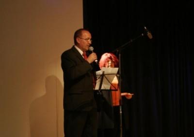 Die Gäste  begrüsste Bürgermeister Hermann Kozlik aus Berndorf