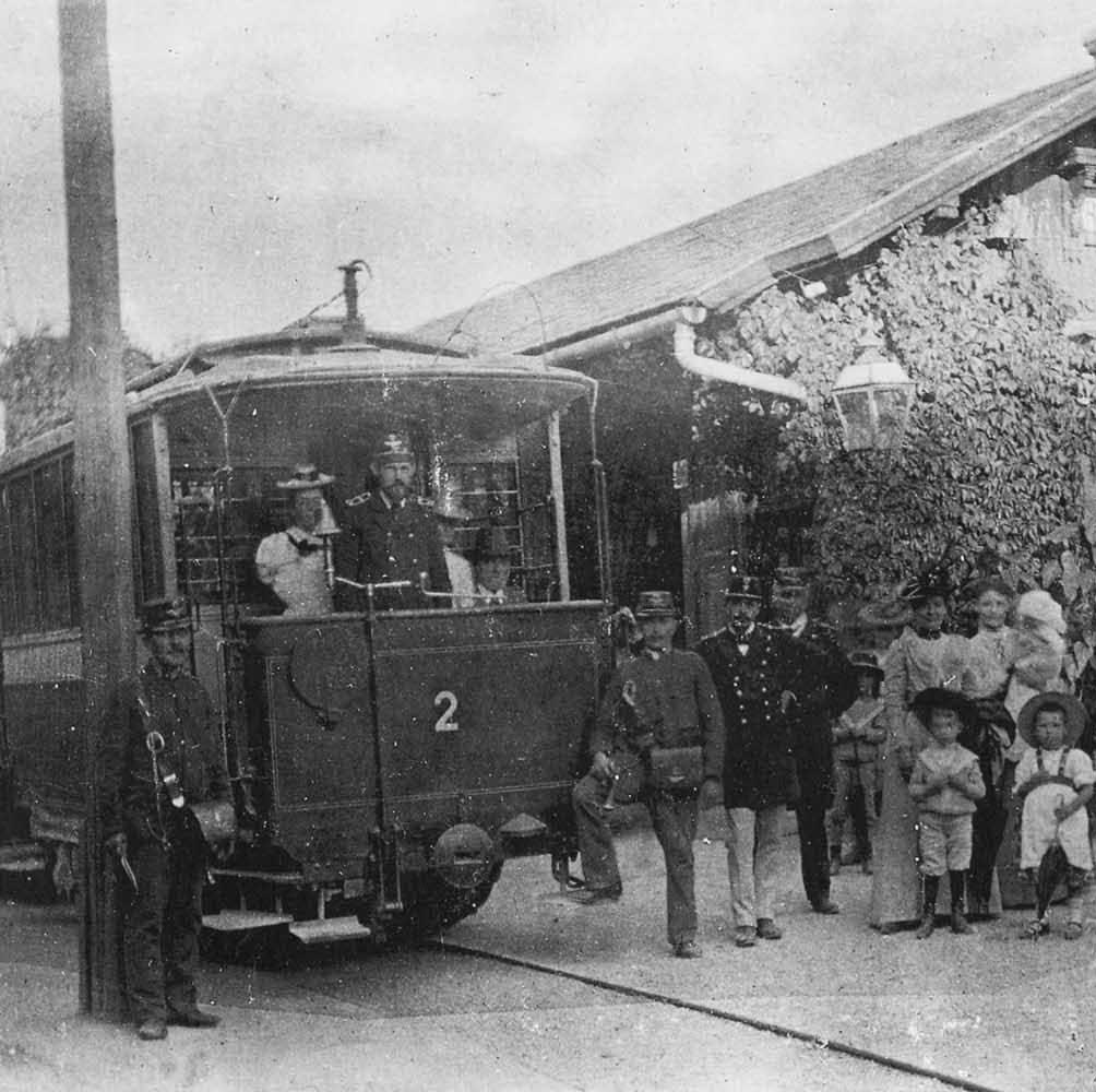Straßenbahn alt